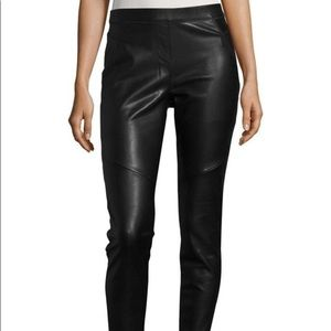 FREE PEOPLE: vegan leather leggings